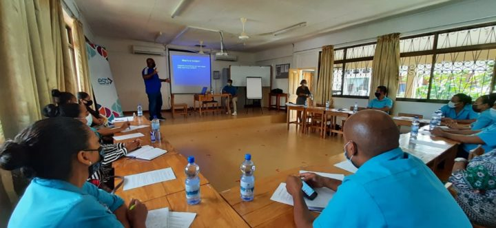 Health and Sustainability Training for ESA Team