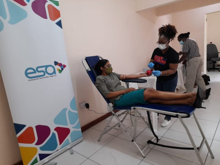 ESA Celebrates its Third Anniversary with a Blood Donation Activity